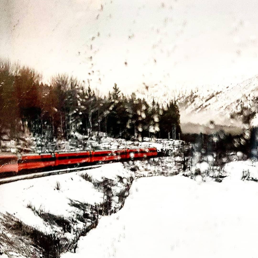 Bergensbanen, Norway